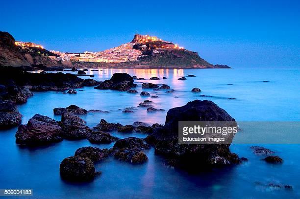 Europe Italy Sardinia Anglona Castelsardo