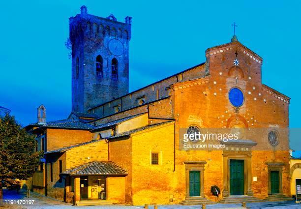 Europe. Italy. Tuscany. San Miniato. Cattedrale Di Santa Maria Assunta E Di San Genesio.