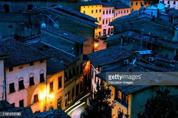 Europe. Italy. Tuscany. San Miniato.