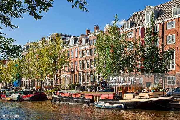 Europe, Netherlands, Canal in Amsterdam