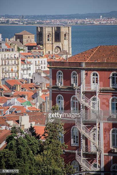 Europe Portugal Lisbon Alfama S_ Cathedral