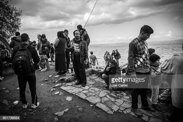 Europe refugee crisis - Lesbos, Greece