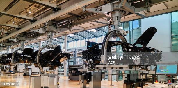 Europe Saxony The Transparent Factory Transparent Factory Is The English Name of An Automobile Production Plant In Dresden Germany Owned By German...