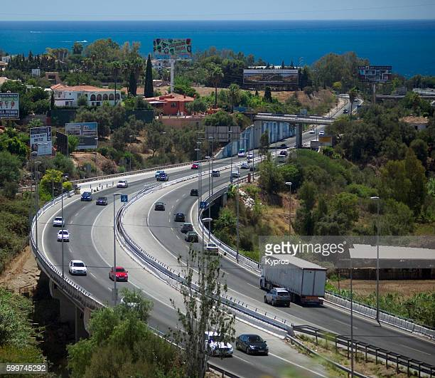 Europe, Spain, Algeciras Area, View Of Roads And Streets And Highways General Street Scene