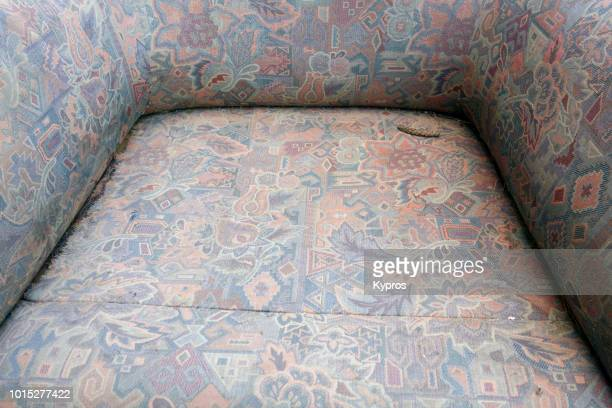 Europe, Spain, Balearic Isles, Ibiza, 2018: View Of Armchair
