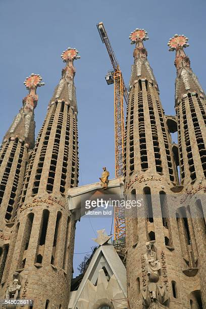 The Unfinished Church Sagrada Familia By Antoni Gaudi News Photo