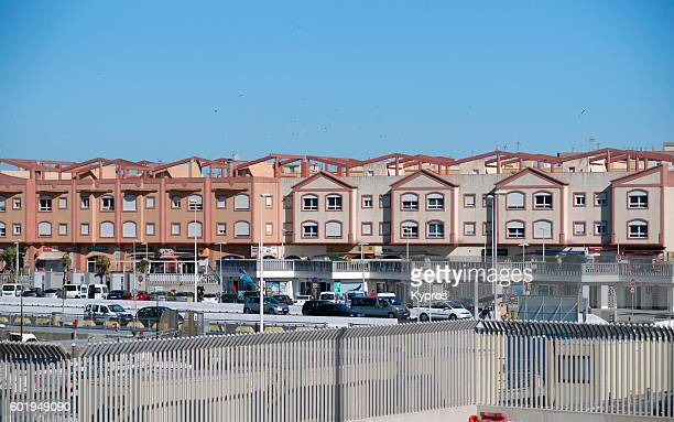 Europe, Spain, Cadiz, Andalusia, Tarifa Area, View Of Buildings And Architecture
