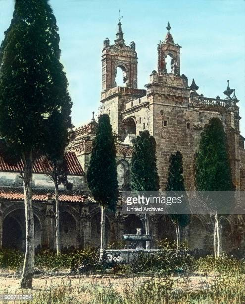 Europe Spain travel Andalusia Jerez de la Frontera image date 1910s 1920s Carl Simon Archive history historical hand coloured glass slide CSA
