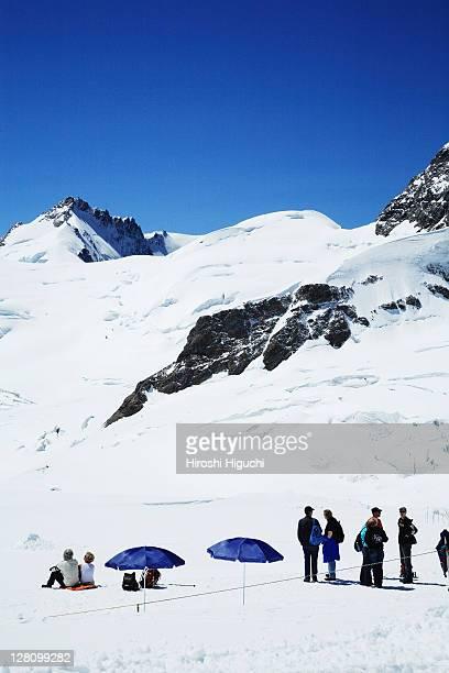 Europe, Switzerland, Berner Oberland, Jungfrau region, Jungfraujoch, Top of Europe,