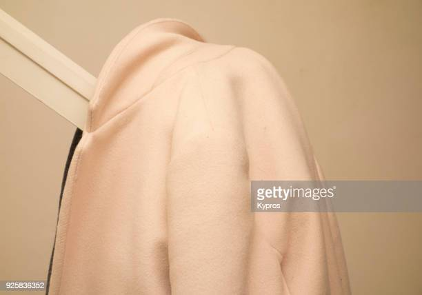 Europe, UK, Great Britain, England, London Area, 2018: View Of Coat On Bannisters
