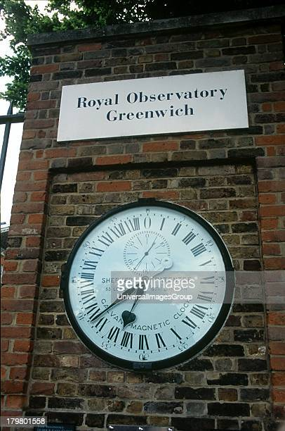 Europe United Kingdom England Greenwich Royal Observatory Official 24 hour Clock