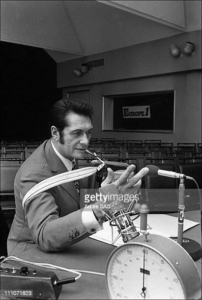 Europe1 Andre Verchuren Accordionist Portrait Of Andre Verchuren In Paris France In 1968