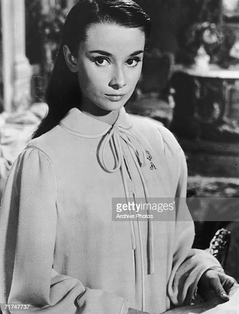 European actress Audrey Hepburn stars in the romantic comedy 'Roman Holiday' 1953