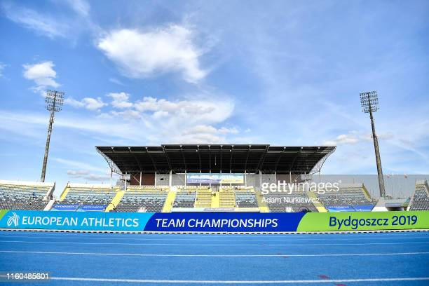 European Athletics Team Championships Super League Bydgoszcz 2019 Day One at Zawisza Stadium on August 9 2019 in Bydgoszcz Poland