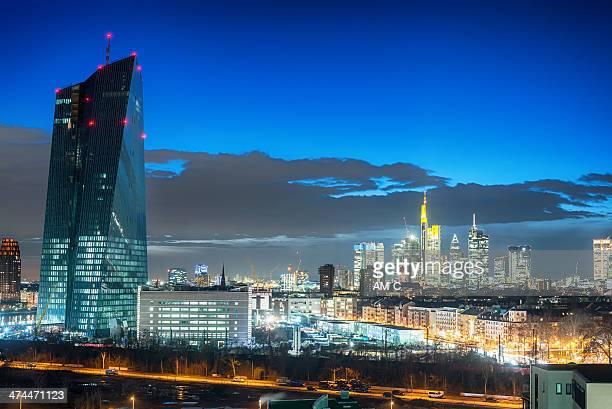 Banca centrale europea, la Banca centrale europea, EZB, Francoforte.