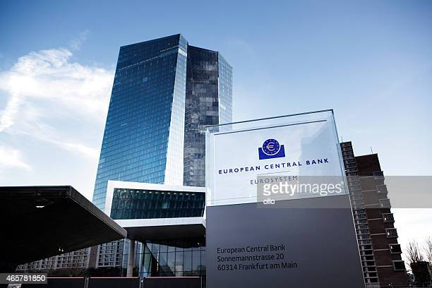 ECB, European Central Bank Frankfurt, Germany