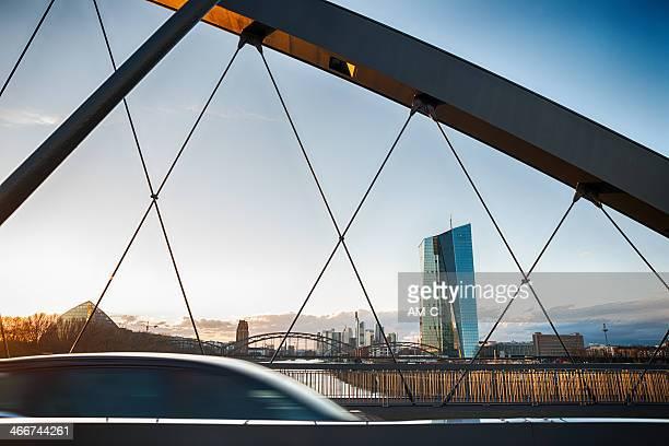 ezb 、ecb 、欧州中央銀行,フランクフルトます。 - 欧州中央銀行 ストックフォトと画像
