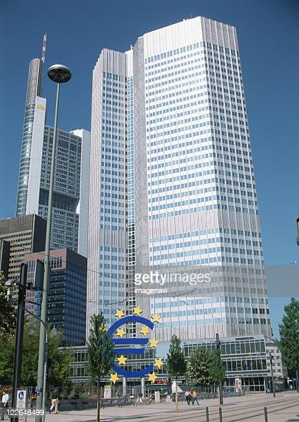 european central bank - european central bank stock photos and pictures