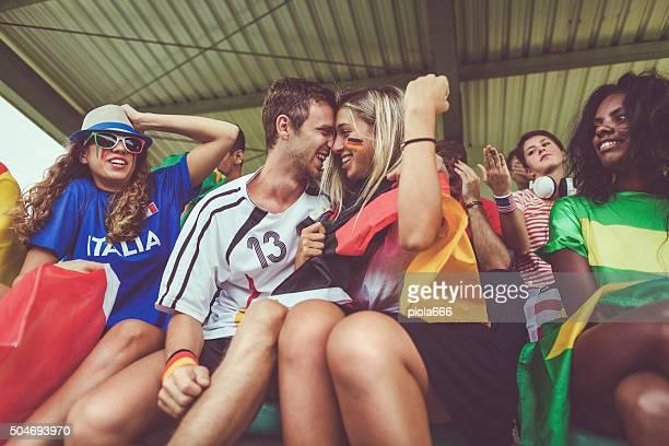Campeonato europeo de seguidores y amor