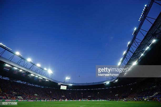 European Championships Euro 2012 - Group B - Netherlands v Denmark in the Metalist Stadium, home of FC Metalist Kharkiv in the Ukraine
