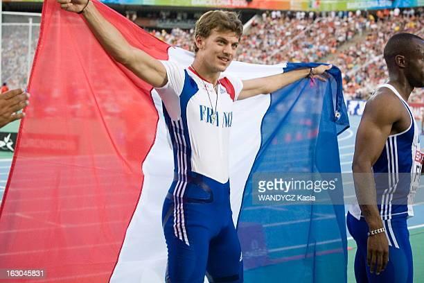 European Championships In Athletics In Barcelona 2010 Relais 4 X 100 Hommes PierreAlexis Pessoneaux Christophe Lemaître Jimmy Vicaut et Martial...