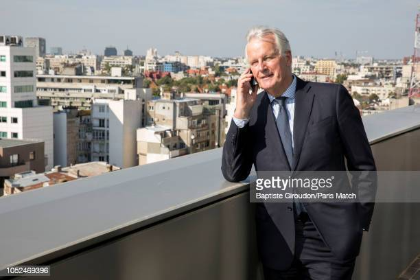 European Chief Negotiator for the United Kingdom Exiting the European Union Michel Barnier is photographed at the Romanian parliament for Paris Match...