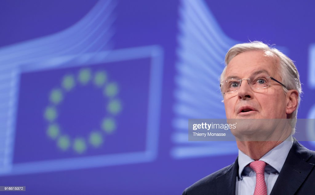 Michel Barnier Delivers Brexit Press Conference