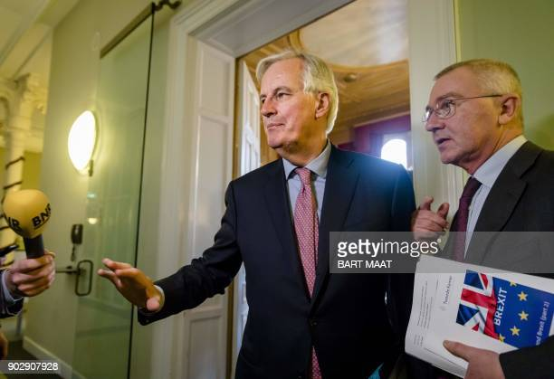 European Chief Negotiator of the Task Force for the Preparation and Conduct of the Negotiations with the United Kingdom under Article 50 Michel...