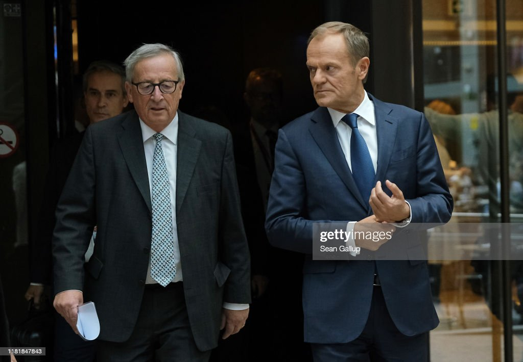 Leaders Attend European Council Meeting : ニュース写真