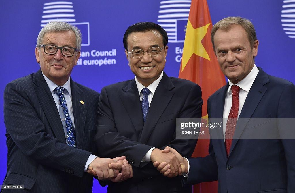 BELGIUM-EU-CHINA-SUMMIT : News Photo
