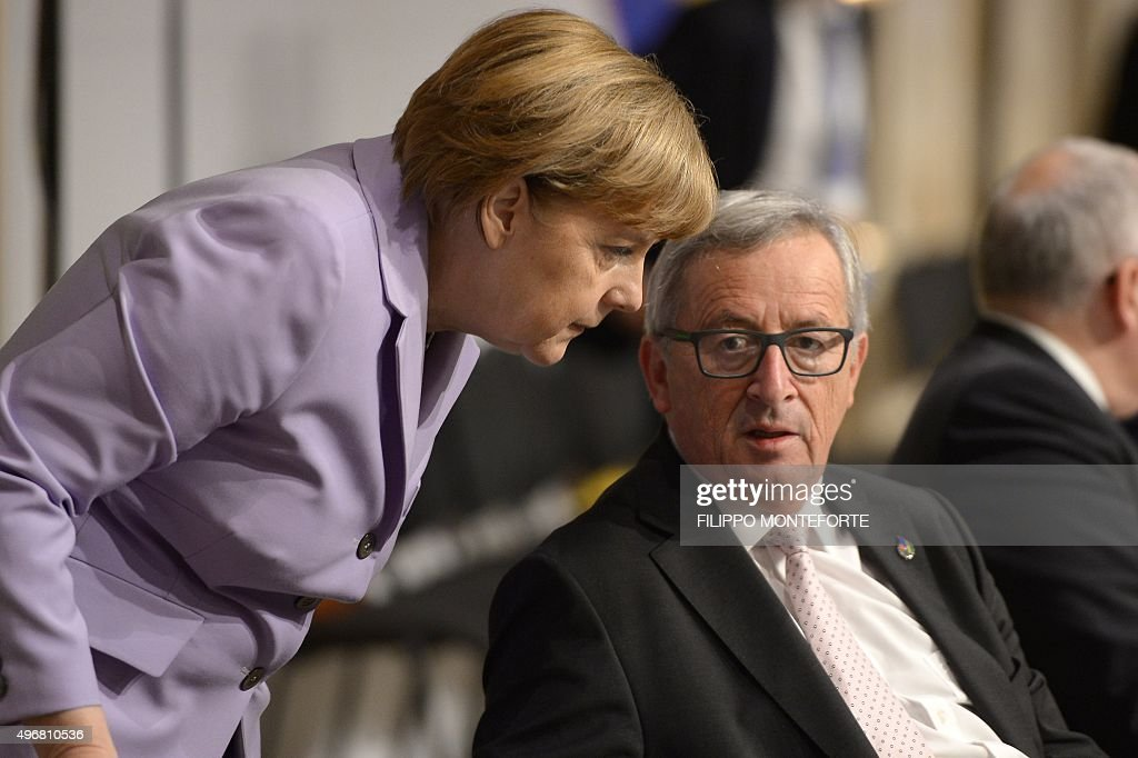 MALTA-EU-IMMIGRATION-SUMMIT : News Photo