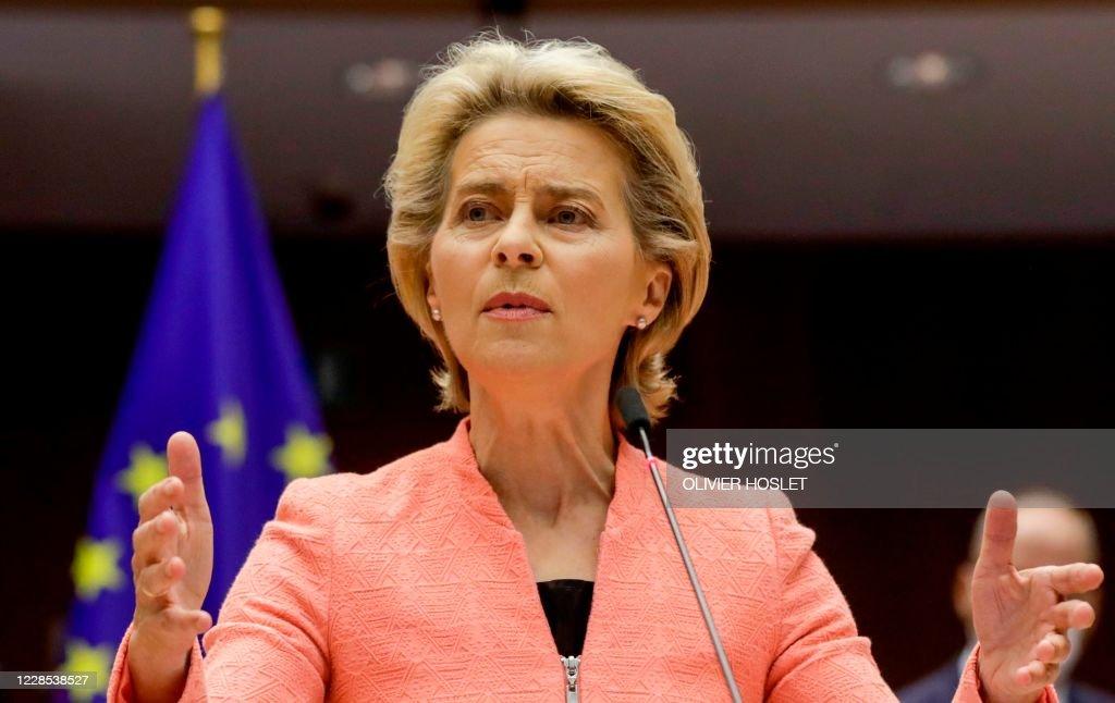 BELGIUM-EU-PARLIAMENT : News Photo