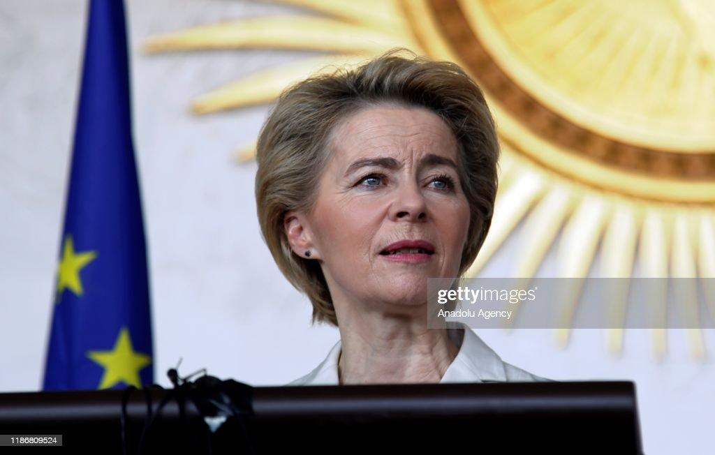 European Commission President Ursula von der Leyen in Ethiopia : News Photo