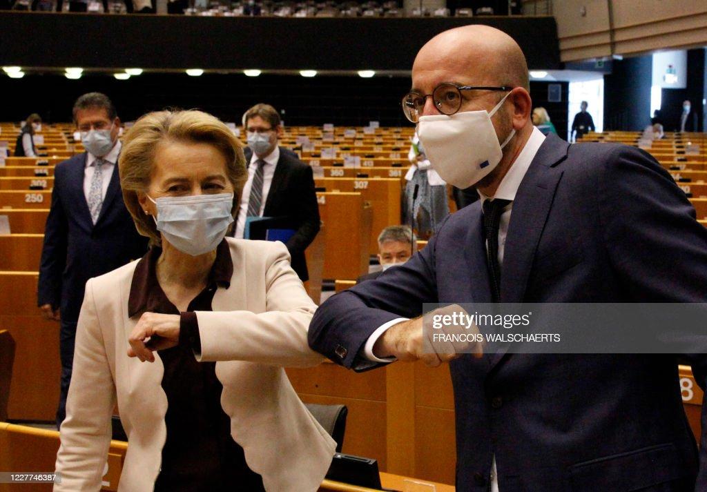 BELGIUM-EU-PARLIAMENT-BUDGET : News Photo