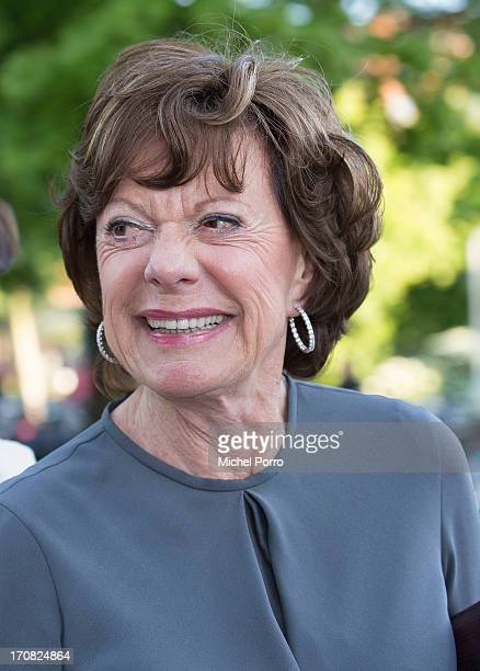 European Commissioner for Digital Agenda Neelie Kroes attends the opening of the Holland Festival on June 1 2013 in Amsterdam Netherlands