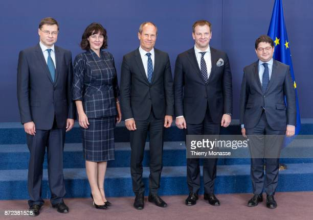 European Commissioner for Financial Stability Financial Services and Capital Markets Union Valdis Dombrovskis Latvian Minister of Finance Dana...