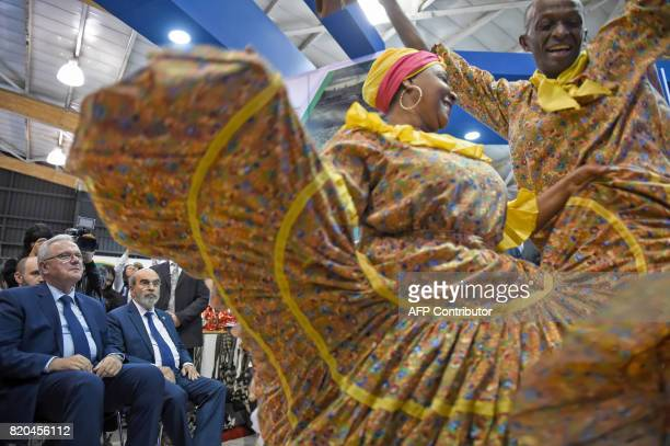 European Commissioner for International Cooperation and Development Neven Mimica and Food and Agriculture Organization general director Jose Graziano...