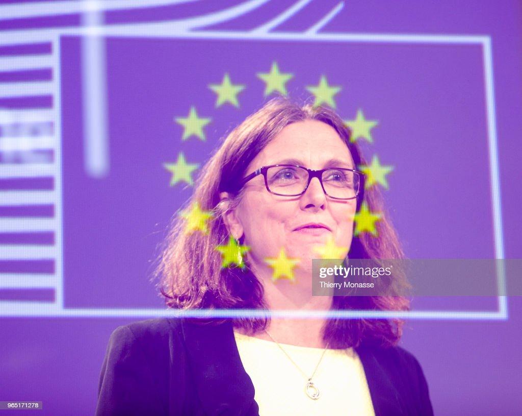 EU Respond To US Steel Tariffs