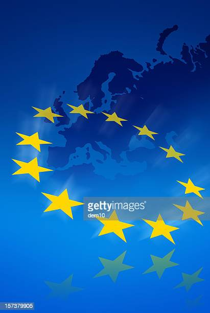 european community - european union flag stock pictures, royalty-free photos & images