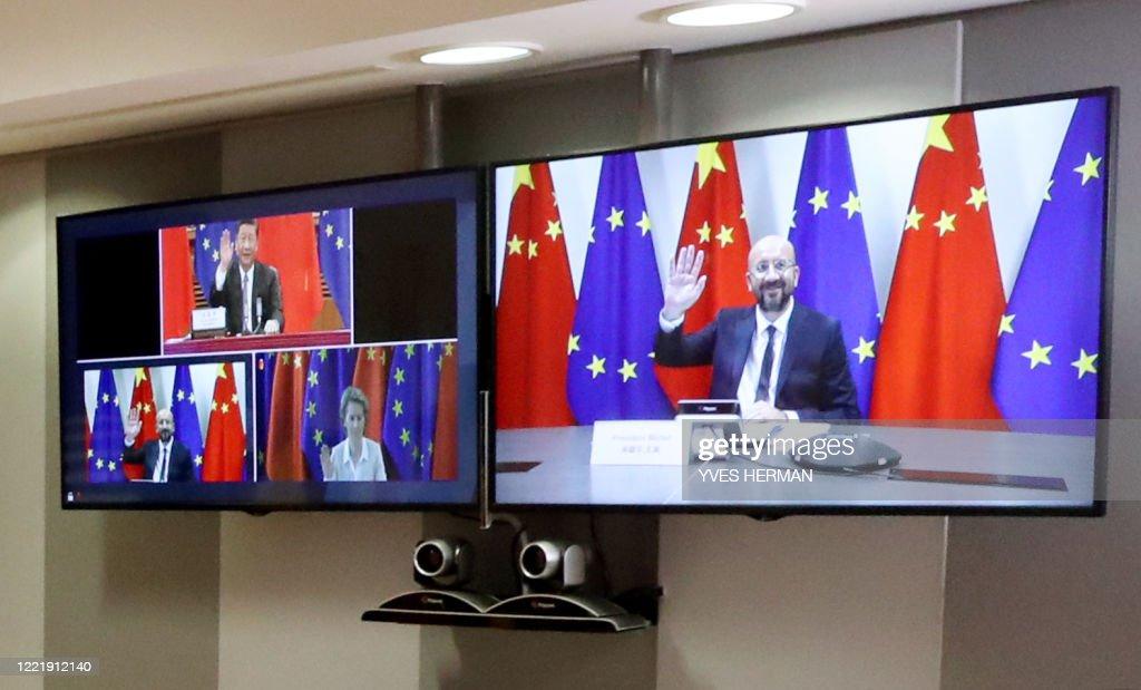 EU-CHINA-SUMMIT : News Photo