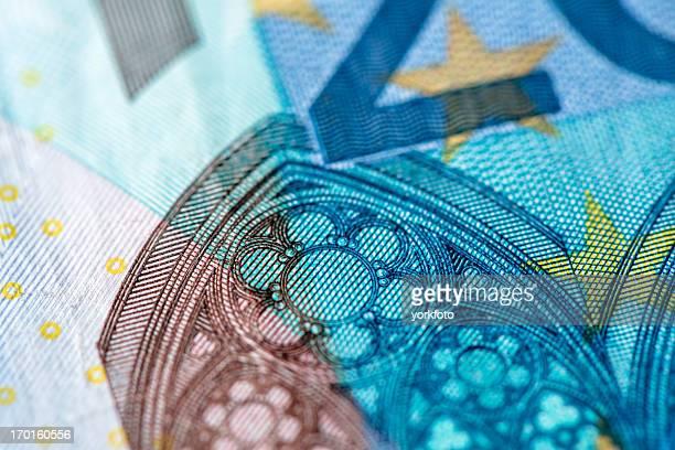valuta dei paesi europei - banconote euro foto e immagini stock