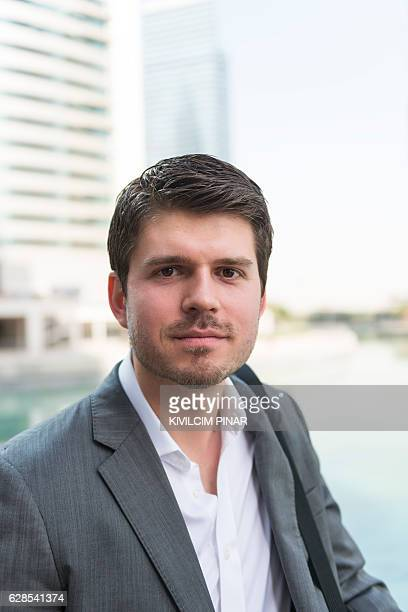 European expat in Middle East portrait