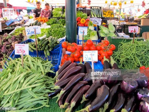 European farmers market Venice Italy