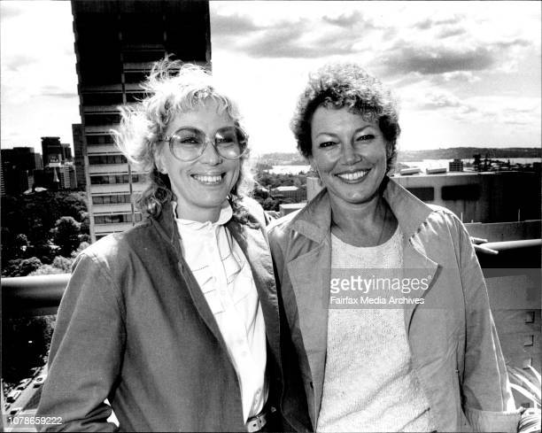 European film makers Aina Bellis and Lissy Bellaiche October 07 1983