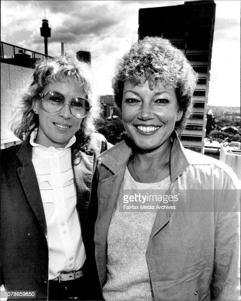 European film makers Aina Bellis and Lissy Bellaiche October 7 1983