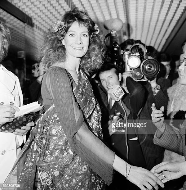 """European Film Premier, at the Odeon, St. Martins Lane for """"Isadora"""" arrivals at the theatre. Vanessa Redgrave. March 1969 Z02175-002"""