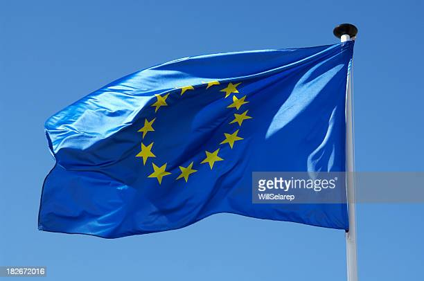 european flag - flag stock pictures, royalty-free photos & images