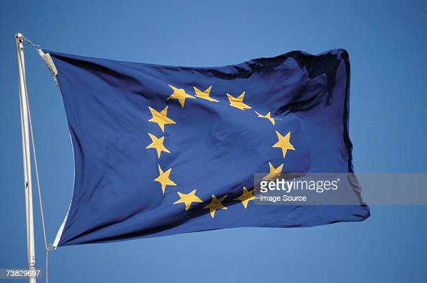 european flag - european union flag stock photos and pictures