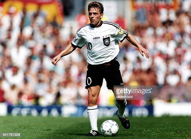 UEFA European Football Championship 1996 in England Thomas Hässler in action June 1996