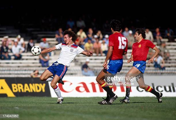 European Football Championships Spain v England Terry McDermott